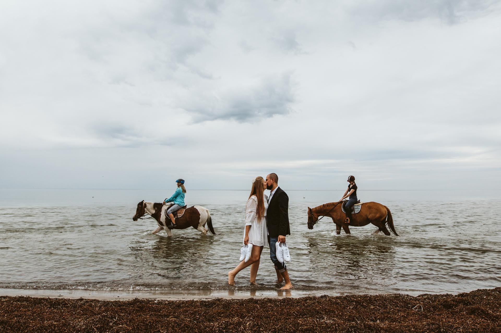 After-Wedding-Shooting auf Insel Peol // Wismar