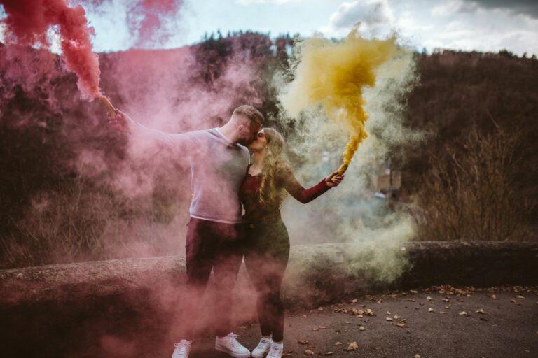 Aus einem Fotoshooting wird ein Heiratsantrag // Burg Eltz